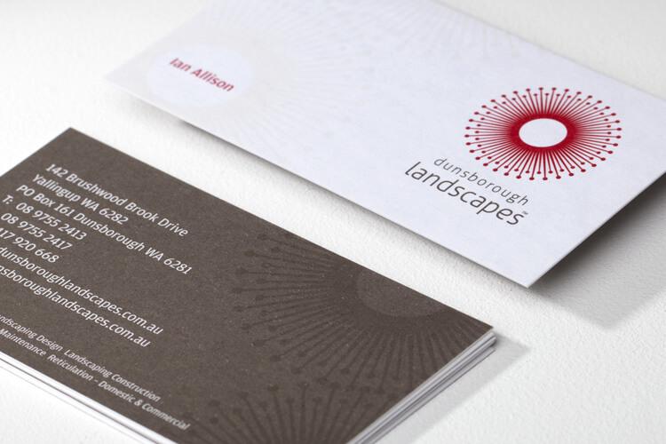Dunsborough Landscapes Business Card