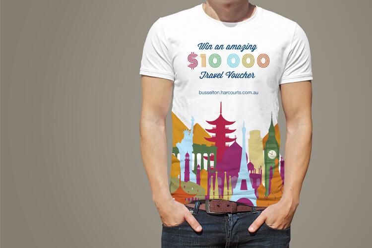 Harcourts Busselton T-Shirt Design