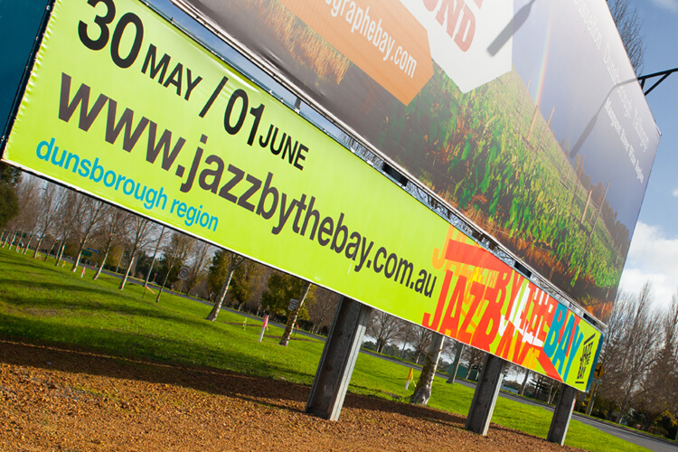 Jazz by the Bay Signage