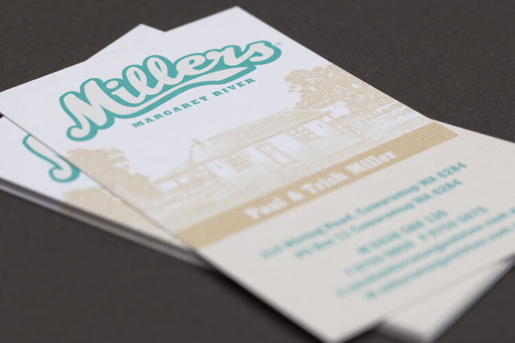 Millers Business Card