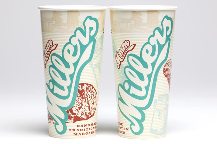 Millers Cup Packaging