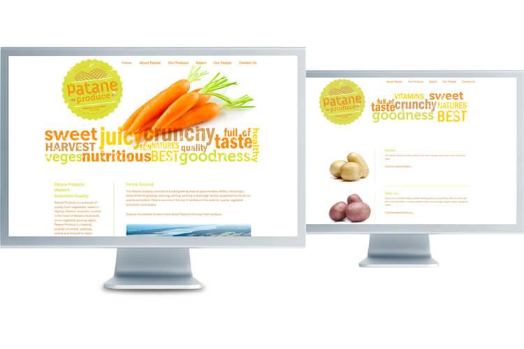 Patane Produce Website