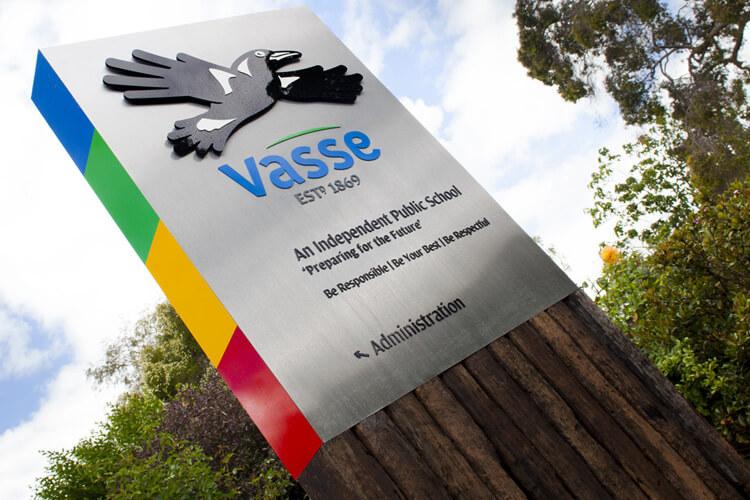 Vasse Primary Site Signage