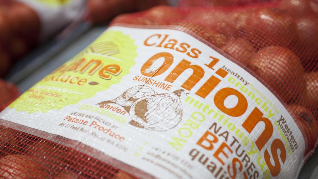 Patane Produce Onion Packaging