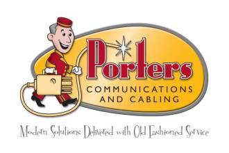 Porters Communications & Cabling Logo