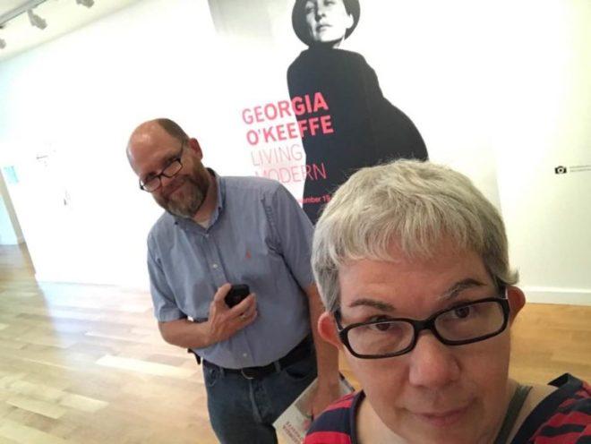 Living Modern with Kiki and O'Keeffe