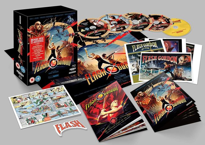 Flash Gordon 4K Blu-ray