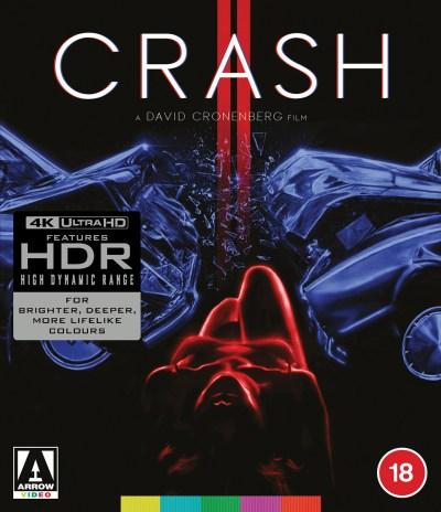 Crash - Arrow Limited Edition 4K UHD Blu-Ray