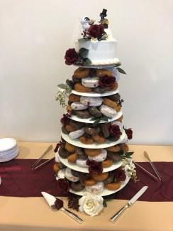 Donut Wedding Tier