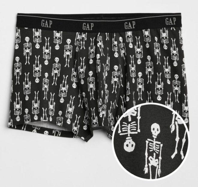 Bones Print Boxer Briefs