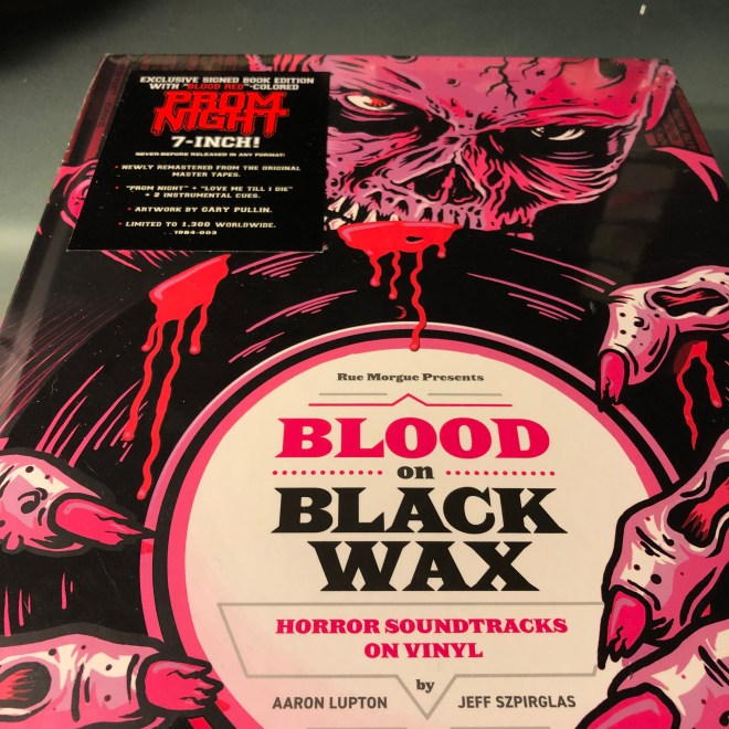 Blood on Black Wax with RSD 2019 with Limited Edition Prom Night 7""