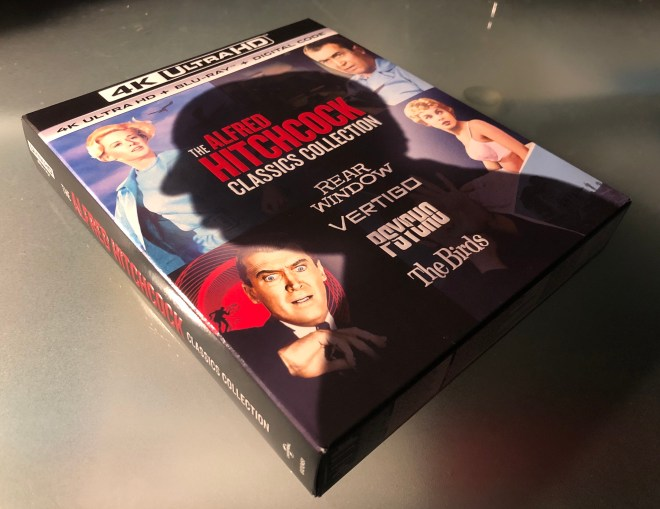 The Alfred Hitchcock Classics Collection 4K Blu-ray