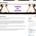 Tango de Salon Dancing