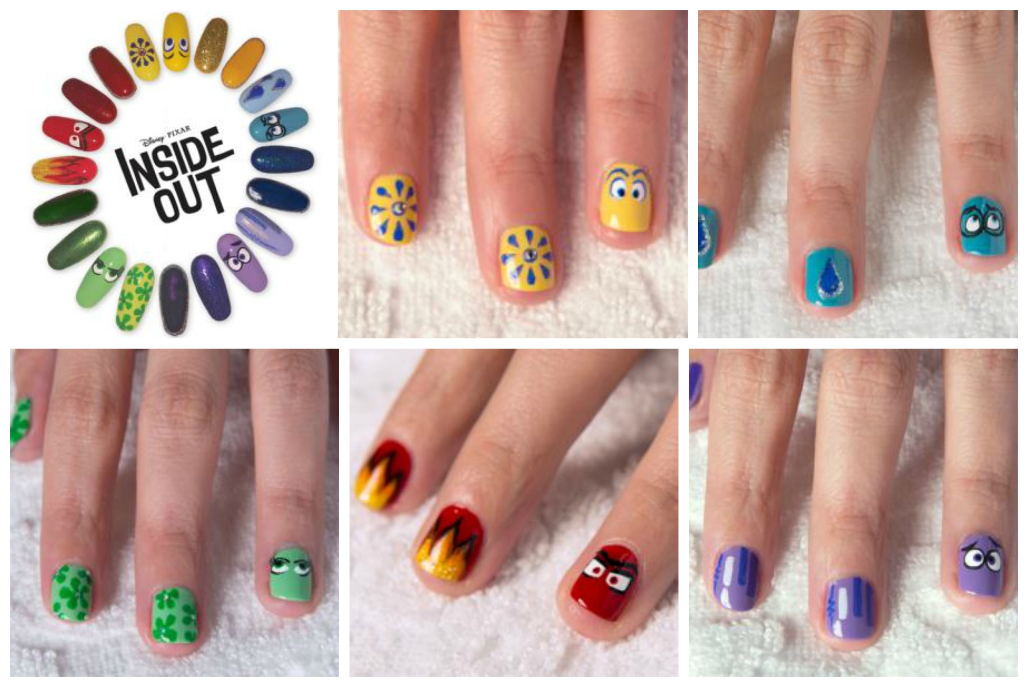 New Inside Out Printable Activities Nail Art Board Game Amp Memory Ball Craft