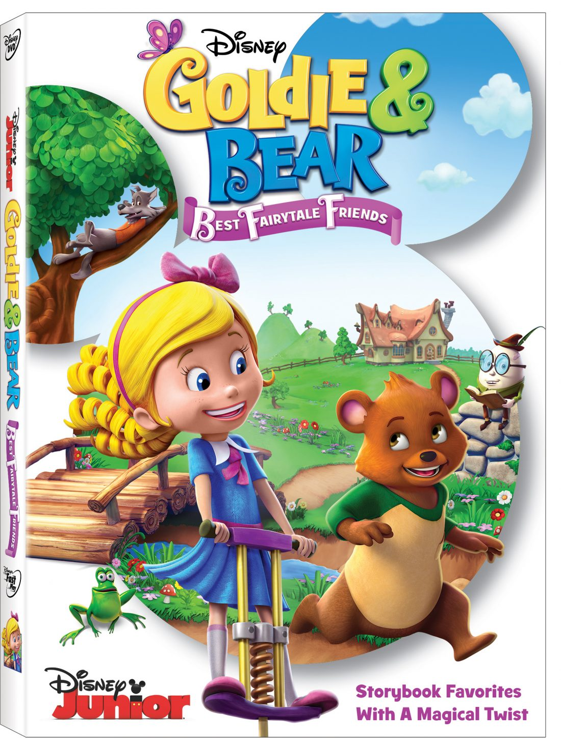 Disney S Golamp Bear Best Fairytale Friends Dvd Story