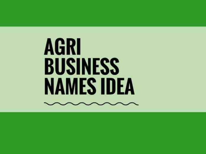 agri business names