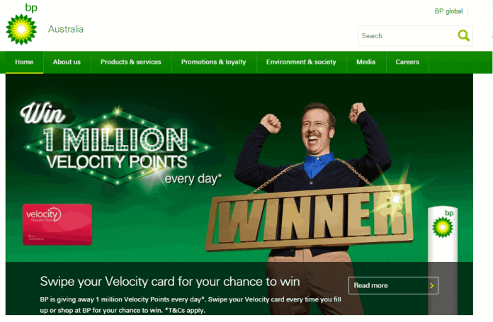 bp green website