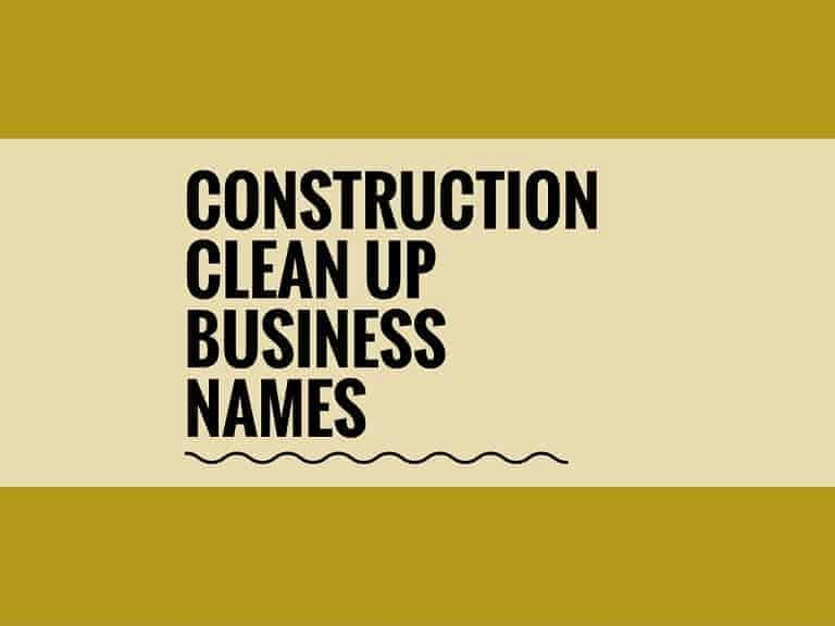 clean company names