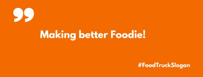 food truck slogans