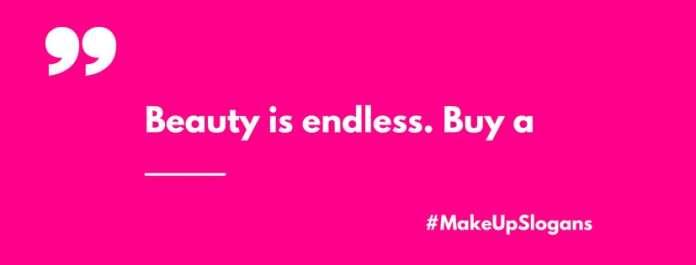 makeup Slogans