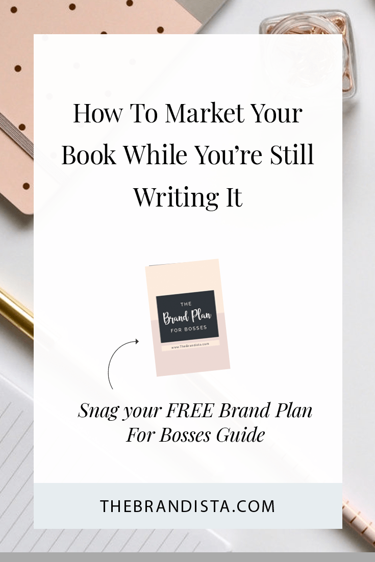 Start marketing your book while you are still writing it. When Is Too Early To Market Your Book? Never. The sooner you can build momentum and excitement about your book, the better.  Author marketing tips to improve your book sales. #authormarketing #bookmarketing #businesstips