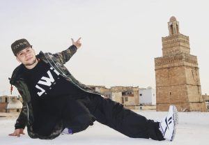 Bboy DIEHARD: From Tunisia's to Estonia's hip-hop scene