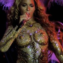 Beyonce Golden Costume