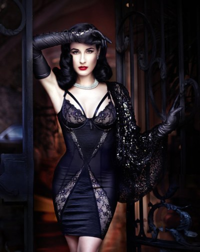 dita von teese lingerie at bloomingdale 39 s. Black Bedroom Furniture Sets. Home Design Ideas