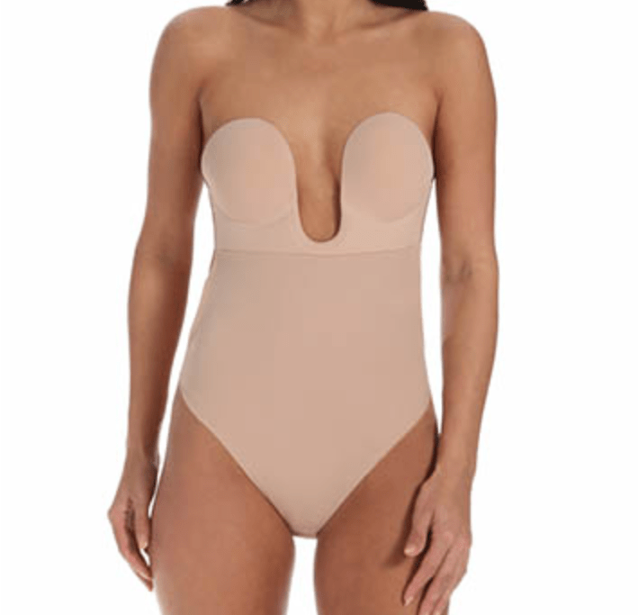 2d1f11ec49 Store. Shop The Bra Zone  Fashion Forms Backless Strapless Bodysuit