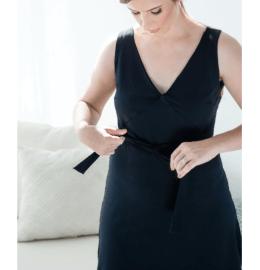 AnaOno Intimates Kara Recovery Wear Wrap Dress