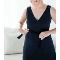 AnaOno Intimates Kara Recovery Wear Wrap Dress