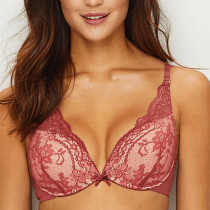 Little Bra Company Lucia Push Up Plunge Bra