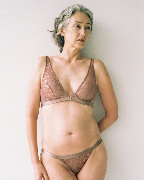 Mature ladies wearing lingerie
