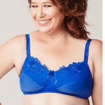 Red Fern Ava Sapphire Blue Mastectomy Bra