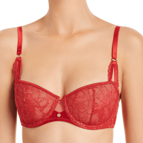 Chantelle Segur Lace Unlined Demi Bra