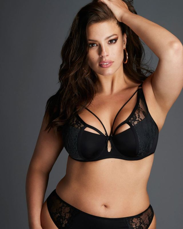 21002617a7378 Ashley Graham Micro Jersey Demi Cup Diva Bra. Available in Bands 34-44