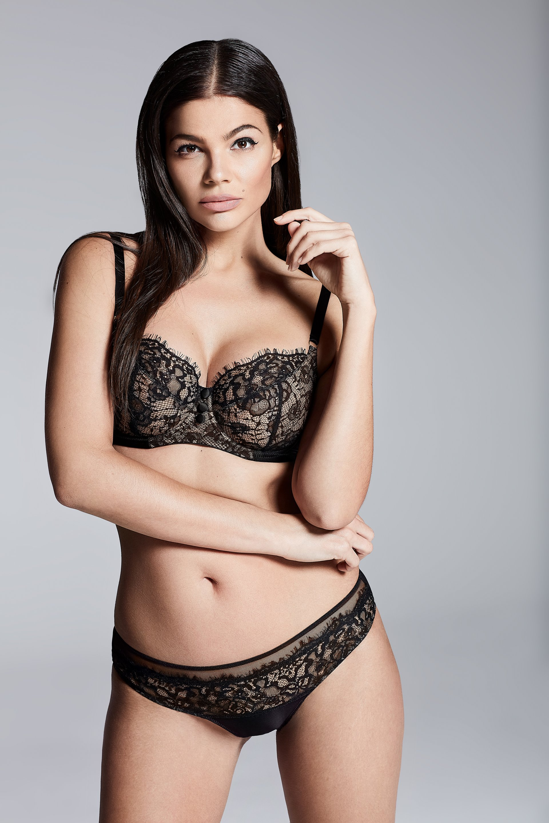 1b82daa02 Beautiful Black Lace Lingerie for Valentine s Day