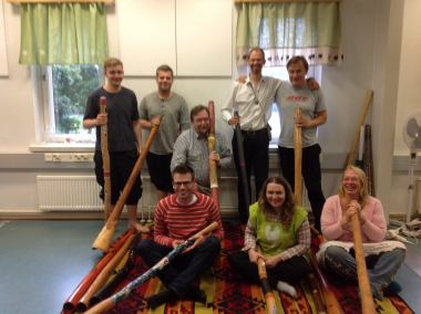 didgeridoo group