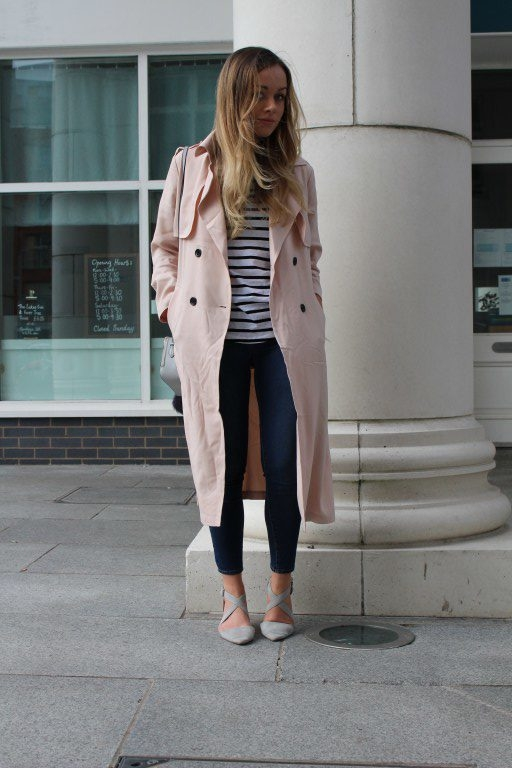 How-to-style-the-trench-coat-Hm-pink-spring-casual-3-e1470907132537