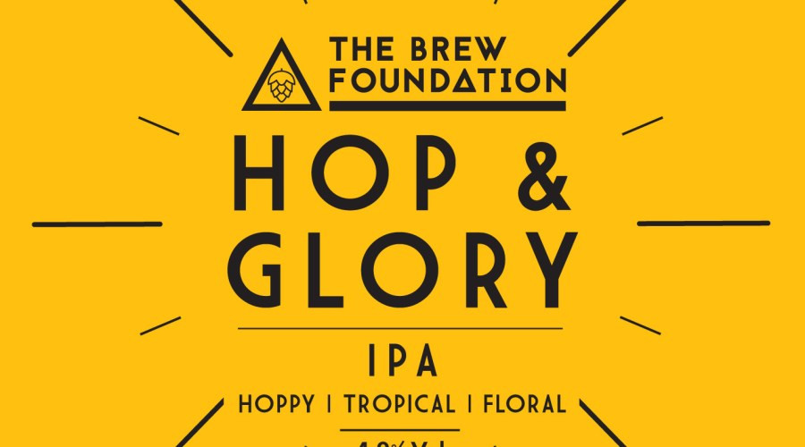 The Brew Foundation Hop & Glory pump clip