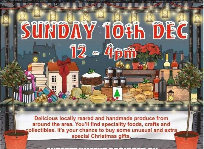 Sharrow Vale Market Dec 17