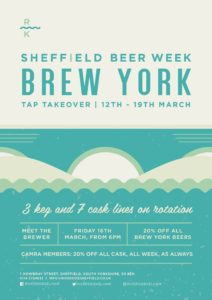 Brew York Sheffield Beer Week