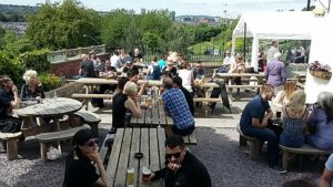 Brothers Arms beer garden