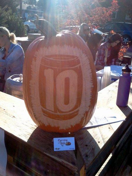 10 Barrel pumpkin
