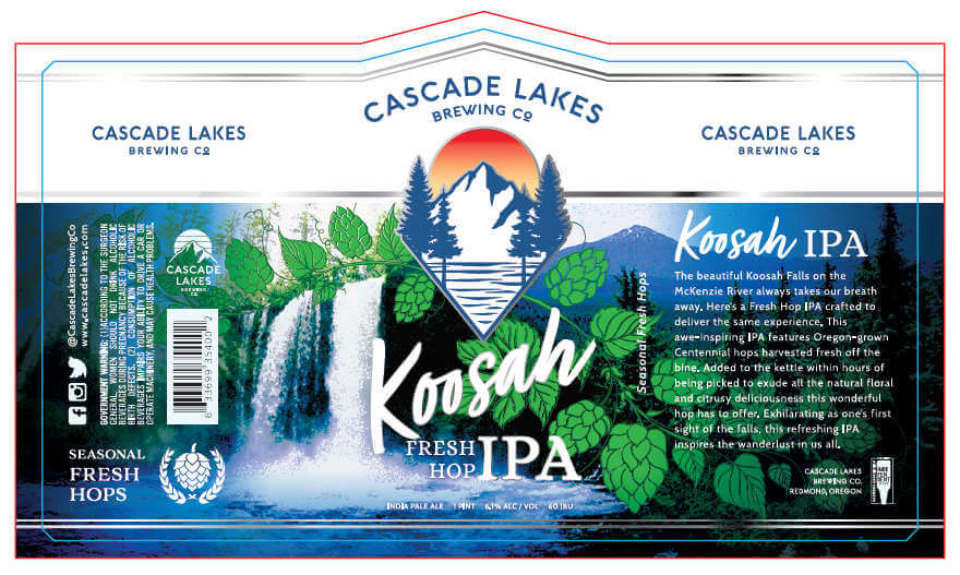Cascade Lakes Brewing releases Koosah Fresh Hop IPA – The Brew Site