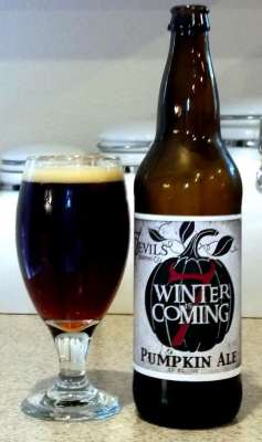 7 Devils Brewing Winter is Coming Pumpkin Ale