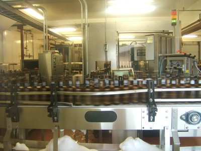 Alaksan Brewing's bottling plant