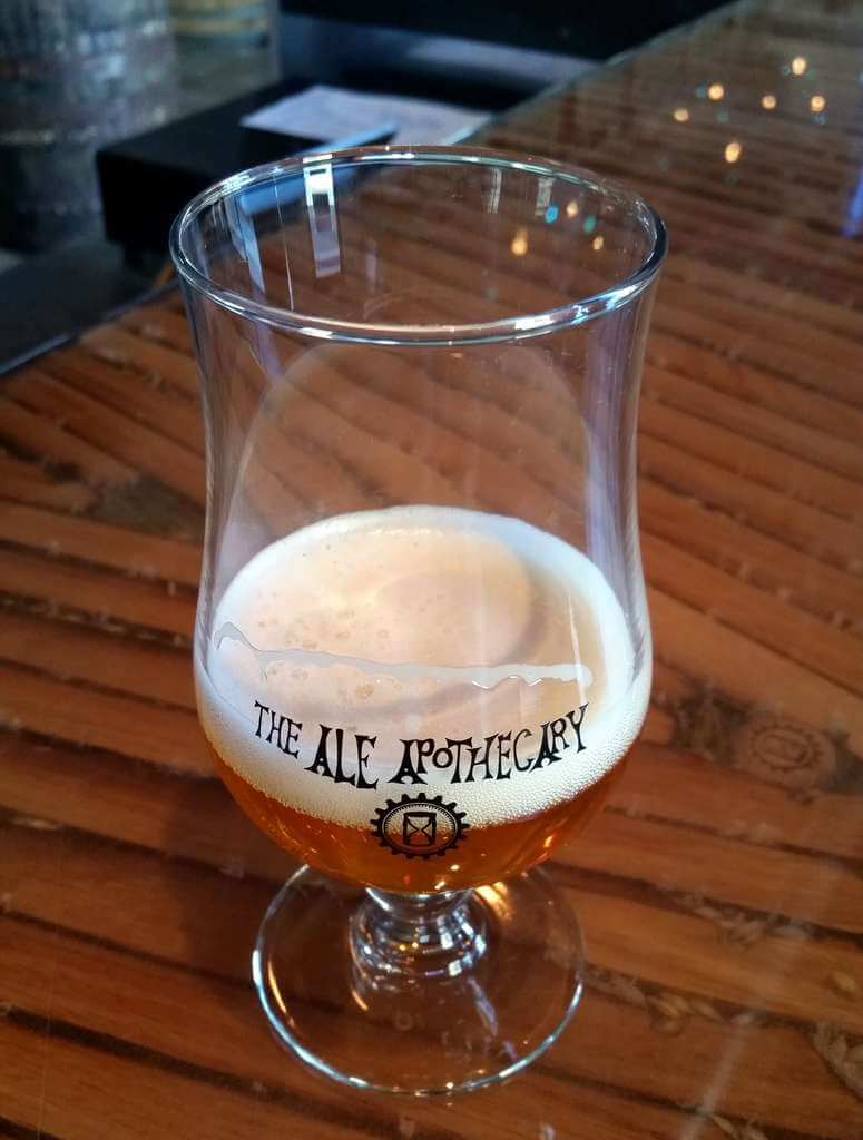 The Ale Apothecary tasting room beer