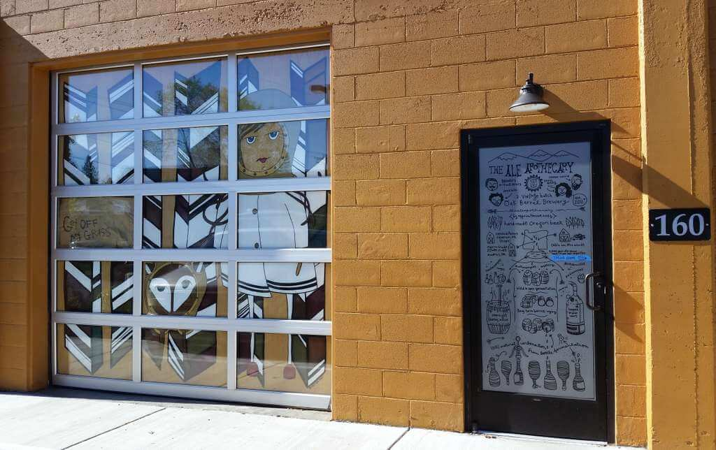 The Ale Apothecary tasting room - exterior