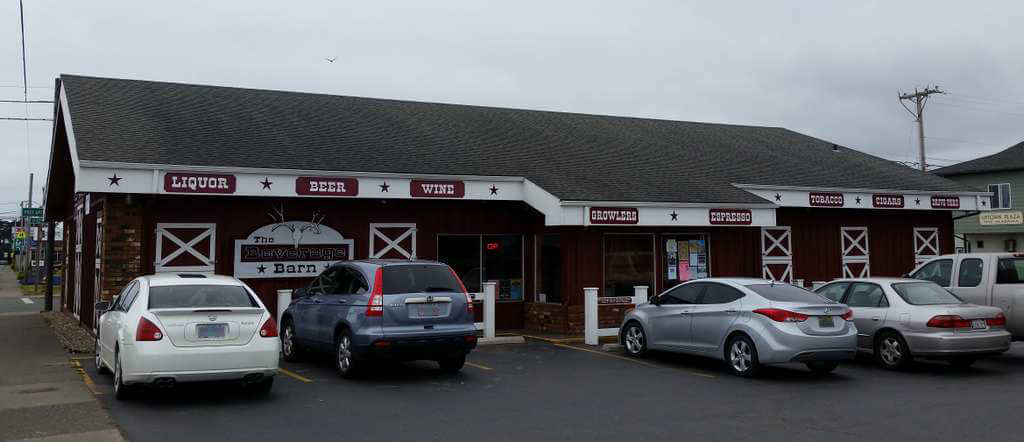 The Beverage Barn, Bandon, Oregon